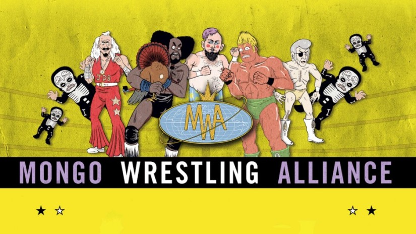 Mongo Wrestling Alliance Logo