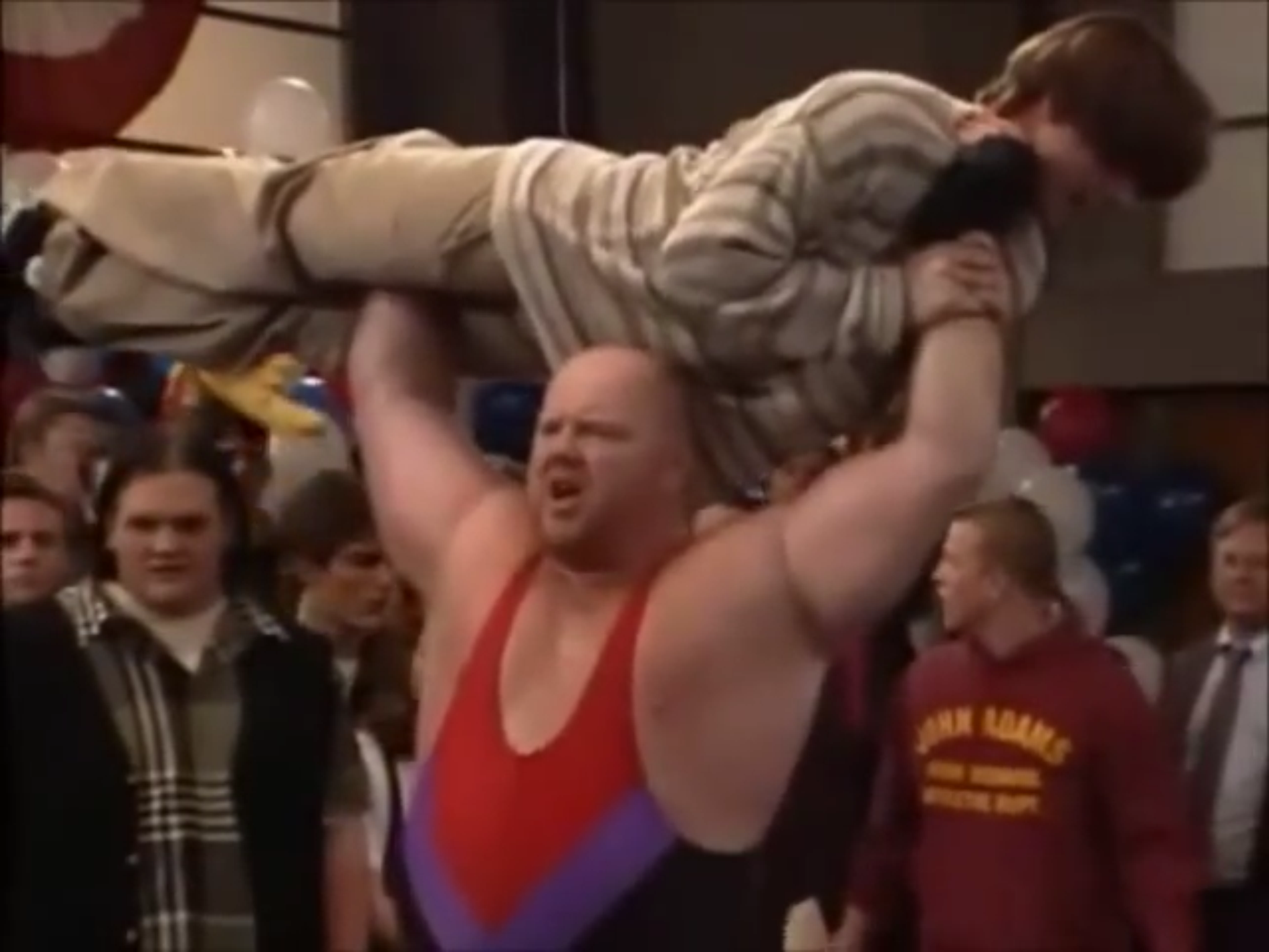 wrestling themed sitcom episodes