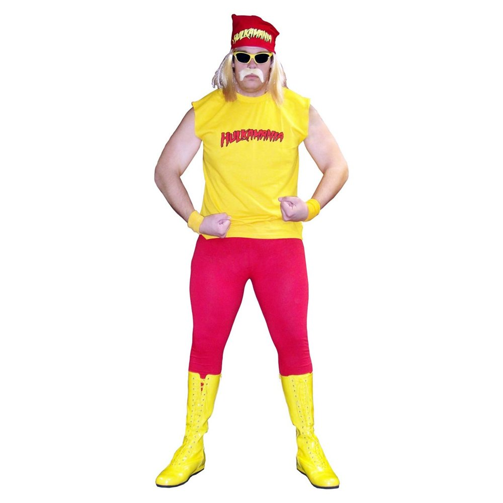 Hulk hogan fancy dress uk cheap