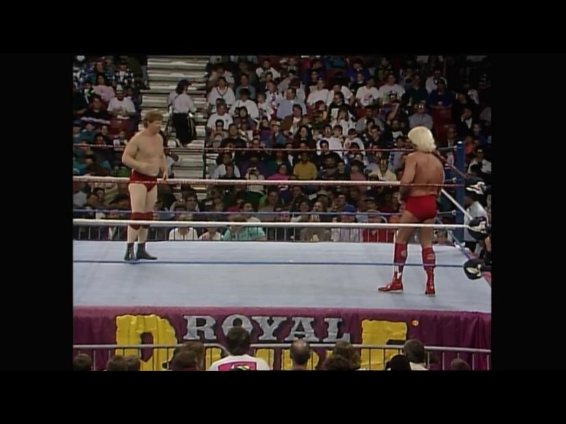 Royal Rumble 1993 - Flair & Backlund
