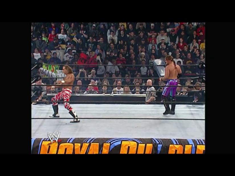 Royal Rumble 2003 - Shawn Michaels & Chris Jericho