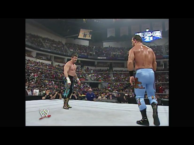 Royal Rumble 2005 - Chris Benoit & Eddie Guerrero