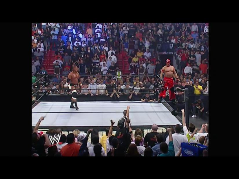 Royal Rumble 2006 - Triple H & Rey Mysterio