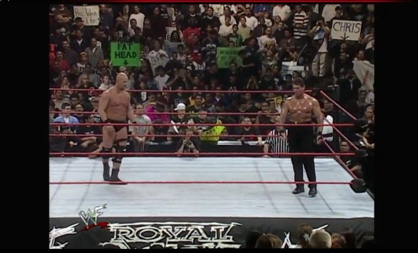 Royal Rumble 1999 - Austin & McMahon