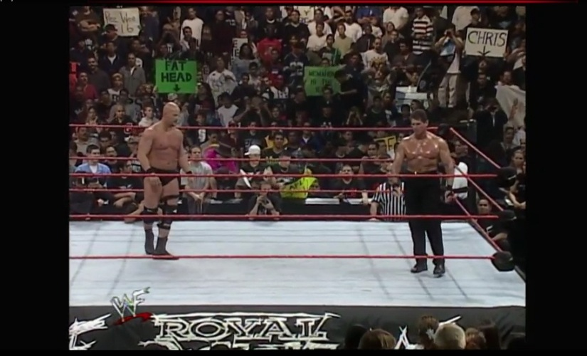 Royal Rumble 1999 - Austin & McMahon
