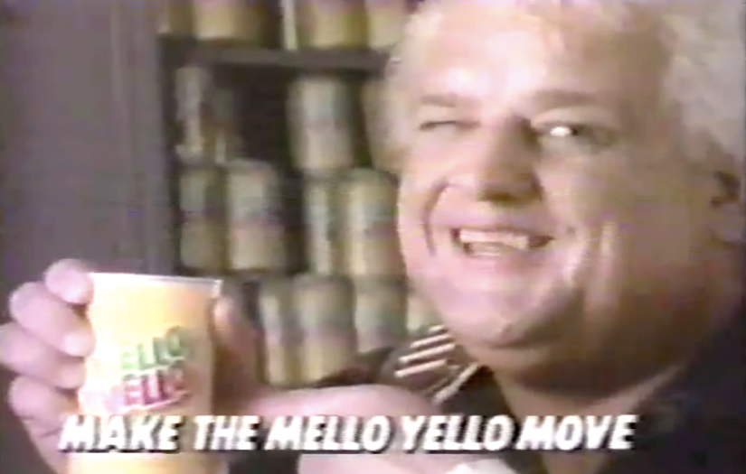 Dusty Rhodes Mello Yello