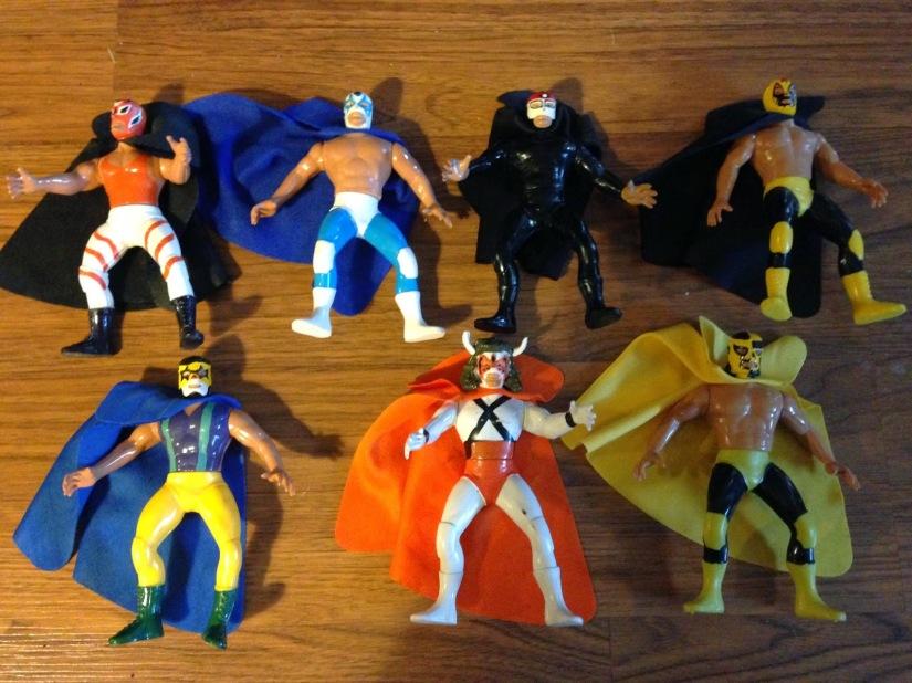 Bootleg Figures - Arena Luchadores