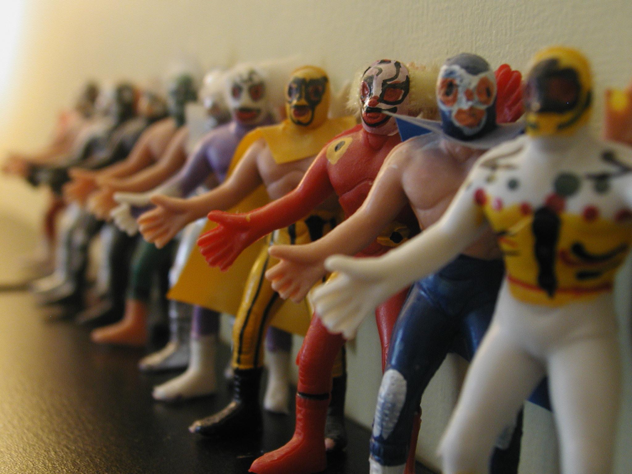 bootleg wrestling action figures