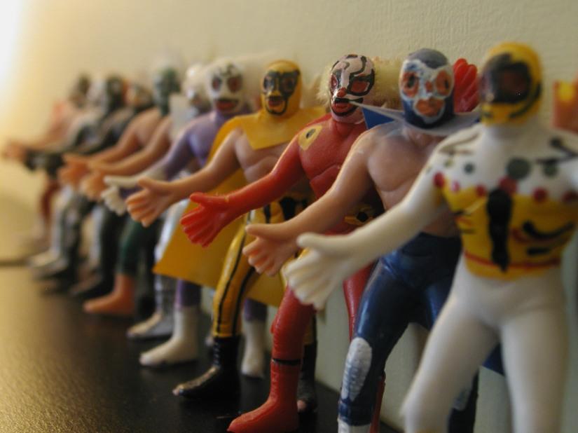 Bootleg Figures - Luchadores 2
