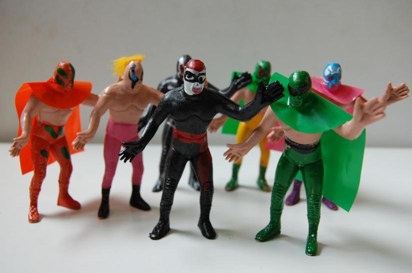 Bootleg Figures - Luchadores
