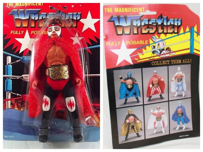 Bootleg Figures - Magnificent Wrestler