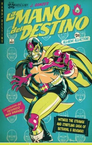 Mano Del Destino-ComicCover