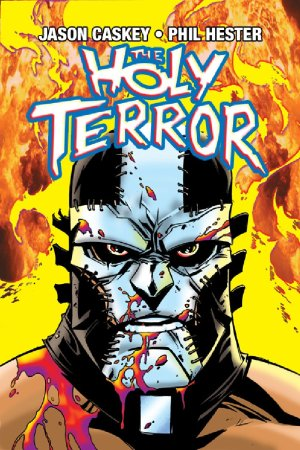 The Holy Terror-ComicCover