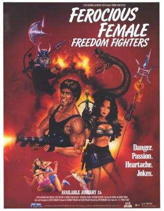 Female Freedom Fighters - Movie Poster