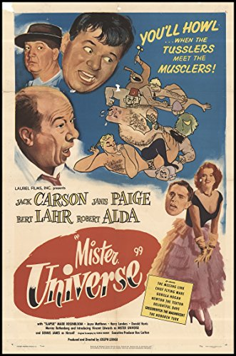 Mister Universe - Movie Poster