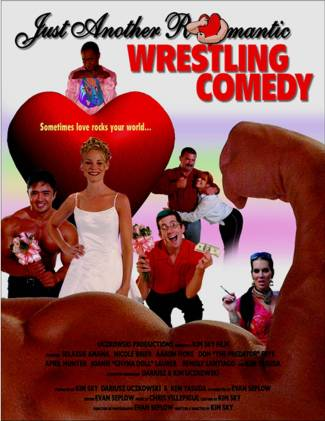 Romantic Wrestling Comedy - Movie Poster