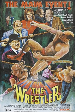 The Wrestler 70s - Movie Poster