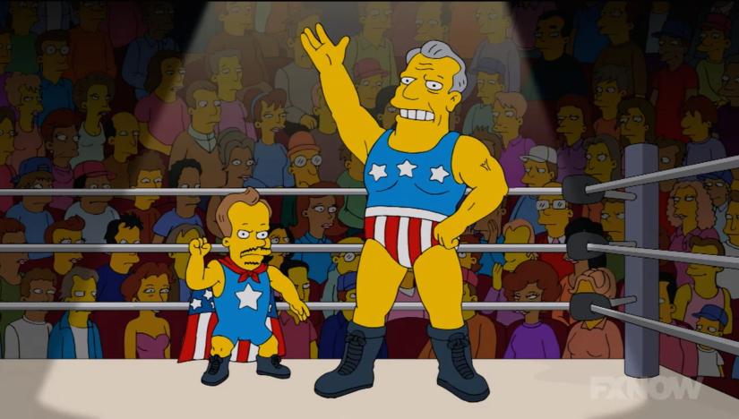 Captain Flag & Half Mast - The Simpsons