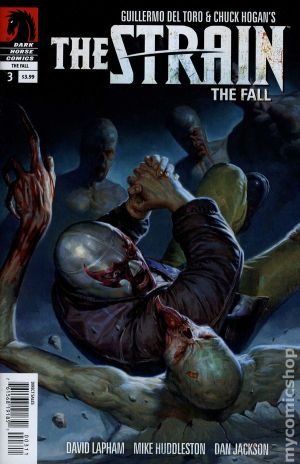 The Strain Silver Angel-ComicCover
