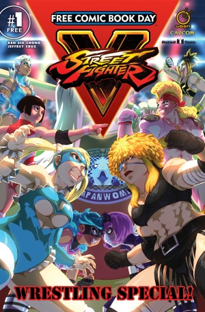 StreetFighterV-ComicCover